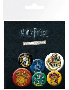 Chapas Harry Potter Casas...
