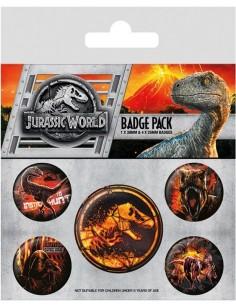 Chapas Jurassic World