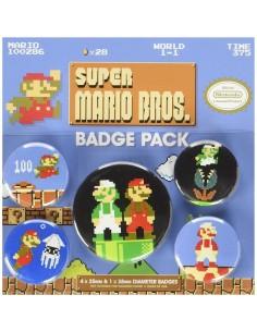 Chapas Super Mario Bros
