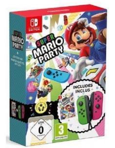 Super Mario Party + Joy-Con...