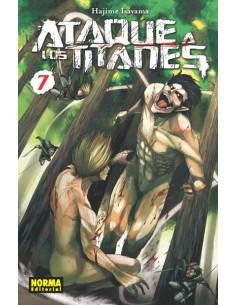 Ataque a los Titanes Nº7...