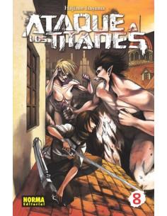 Ataque a los Titanes Nº8...