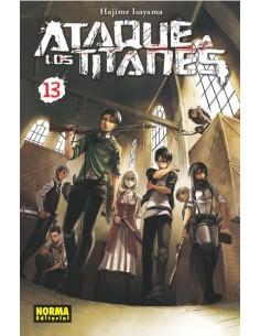 Ataque a los Titanes Nº13...