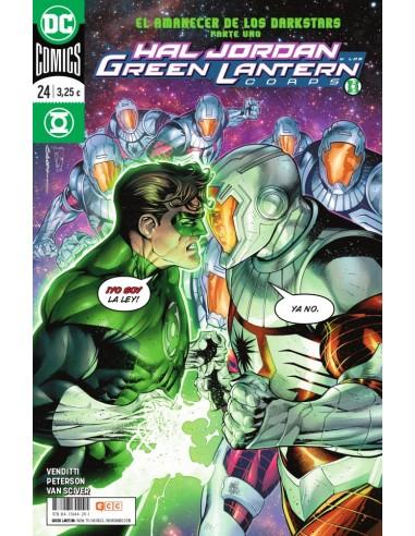 Hal Jordan y los Green Lantern Corps...