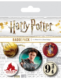 Chapas Harry Potter 9 3/4