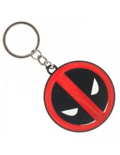 Llavero Metálico Deadpool