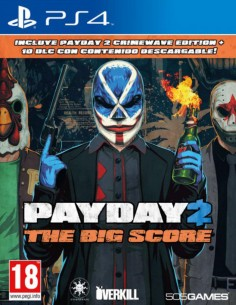 Pay Day 2: The Big Score (PS4)
