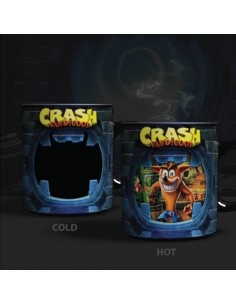 Taza Térmica Crash Bandicoot