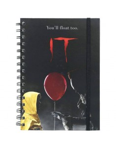 Cuaderno You'll Float Too IT
