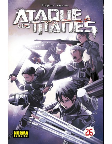 Ataque a los Titanes Nº 26 [Rustica]