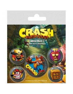 Chapas Crash Bandicoot