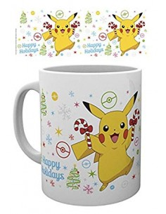 Taza Pokemon Pikachu Happy...