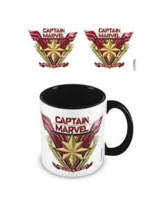 Taza Marvel Capitana Marvel