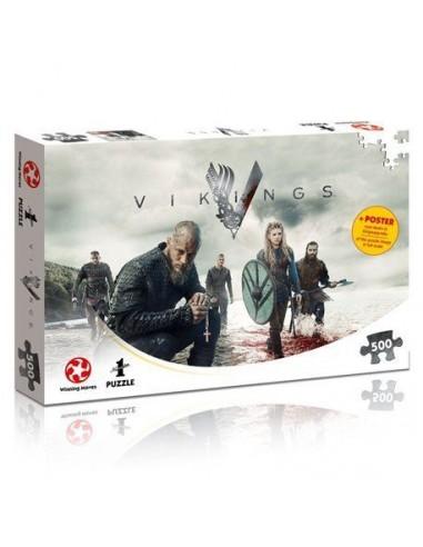 Puzzle Vikings 500 Piezas