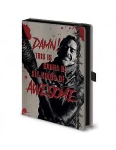 Cuaderno The Walking Dead...