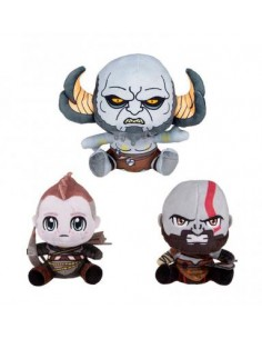 Pack 3 Peluches God Of War...