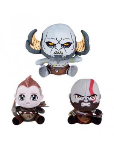 Pack 3 Peluches God Of War - Kratos,...