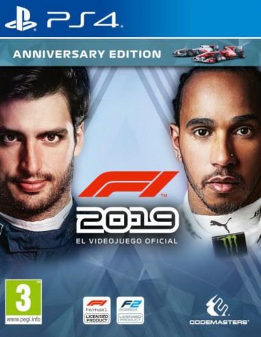 Formula 1 2019 Anniversary Edition (PS4)