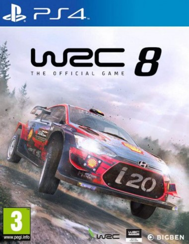 WRC 8 The Official Game (PS4)
