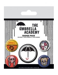 Chapas The Umbrella Acadamy