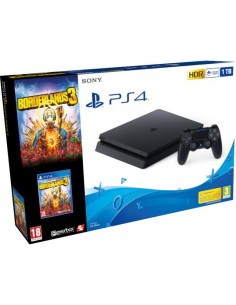 PS4 Consola Slim 1TB Negra...