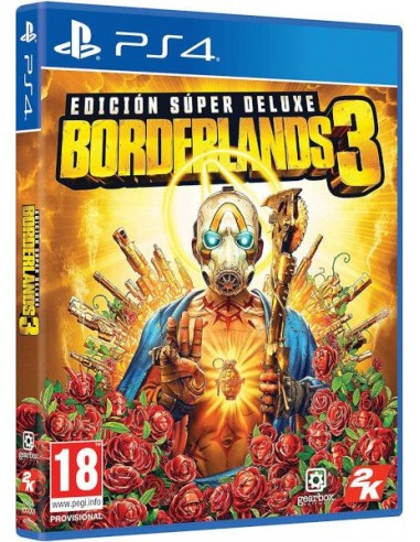 Borderlands 3 Edición Super Deluxe (PS4)