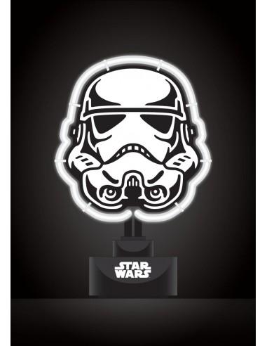 Lámpara Star Wars Stormtrooper Neón