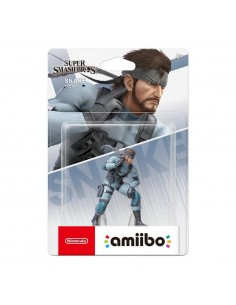 Figura Amiibo Solid Snake...