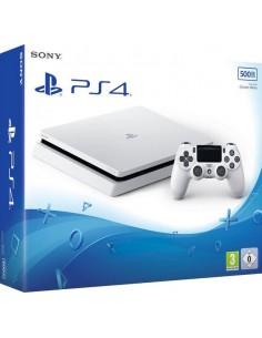 PS4 Consola Slim 500 GB Blanca