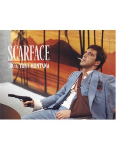 Cuadro Scarface 100% Tony...