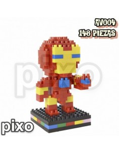 Figura PIXO Marvel Iron Man