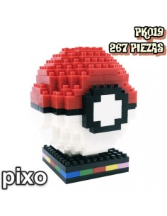 Figura PIXO Pokémon Pokeball