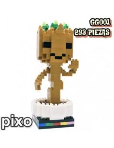 Figuras PIXO Marvel Groot