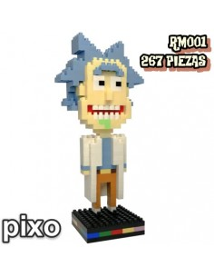 Figura PIXO Rick and Morty...