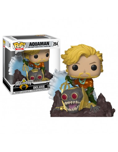 FUNKO POP! DC Comics Aquaman Deluxe...
