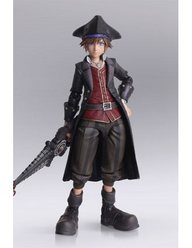 Figura kingdom Hearts 3 Sora Piratas...