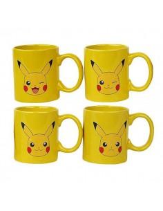 Set Mini Tazas Pokémon Pikachu