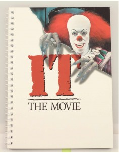 Cuaderno IT The Movie 1990