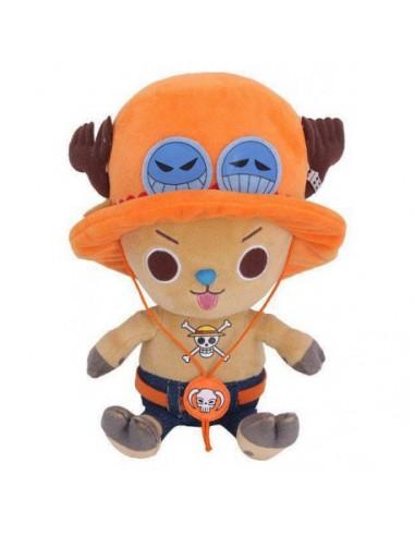 Peluche One Piece Chopper x Ace 20 cm