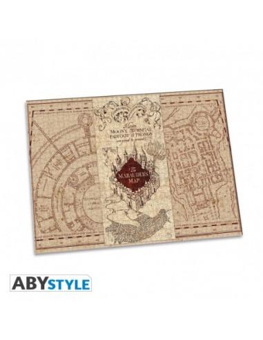 Puzzle Harry Potter Mapa Merodeador...