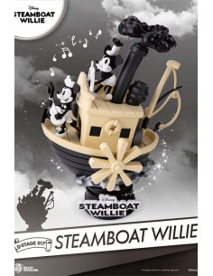 Diorama Disney Steamboat...