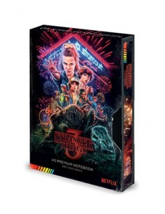 Libreta Stranger Things 3...