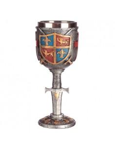 Copa Escudo y Espada Medieval