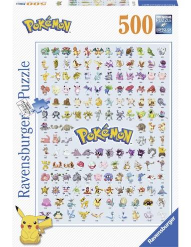 Puzzle Pokémon Ravensburger 500 piezas