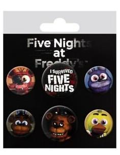 Chapas Five Nights at Freddy's