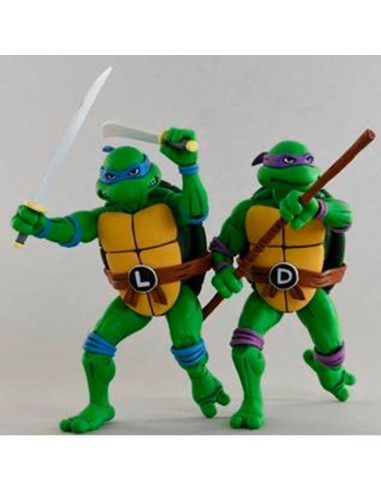 Pack 2 figuras articuladas Leonardo &...