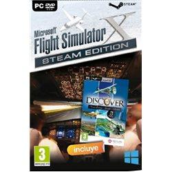 MICROSOFT FLIGHT SIMULATOR X STEAM EDITION + DISCOVER SERIES