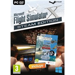 MICROSOFT FLIGHT SIMULATOR X STEAM EDITION + HAWKER HEROES