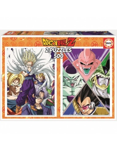 Puzzle Dragon Ball Z 2 Puzzles 500...