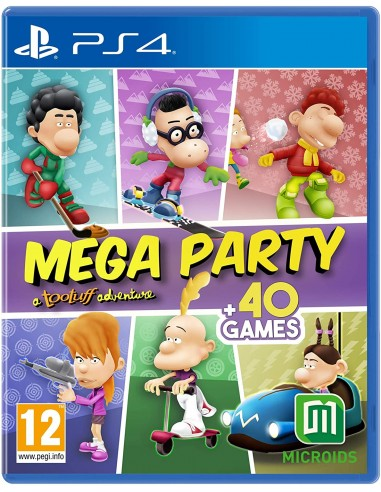Mega Party: A Tootuff Adventure (PS4)